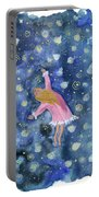 Alice Flying Inthe Night Sky Portable Battery Charger