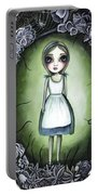 Alice In The Deadly Garden Portable Battery Charger
