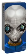 Alien From Space Portable Battery Charger