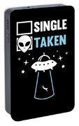 Alien Ufo Single Gift Portable Battery Charger
