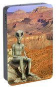 Alien Vacation - Grand Canyon Portable Battery Charger