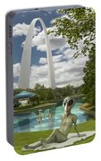 Alien Vacation - St. Louis Portable Battery Charger