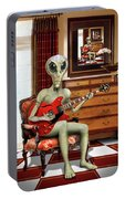 Alien Vacation - We Roll With Jazz Portable Battery Charger
