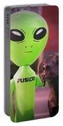 Alien's Best Friend Portable Battery Charger