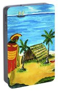 Alihi Hawaiian For Chief #57 Portable Battery Charger