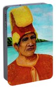 Alihi Hawaiian Name For Chief #295 Portable Battery Charger