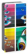 All Pictures With Eyes Portable Battery Charger