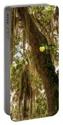 Allamanda And Oak Tree Portable Battery Charger