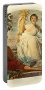 Allegory Of Agriculture Portable Battery Charger