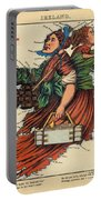 Allegory Of Ireland Portable Battery Charger