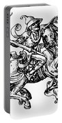 Allegory Of Saturn, 1480 Portable Battery Charger