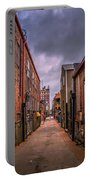 Alley A At Dawn Portable Battery Charger