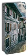 Alley In An Alpine Village #1 Portable Battery Charger