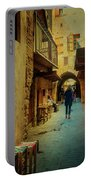 Alley Of Old Sidon Portable Battery Charger