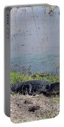 Alligator And Heron Portable Battery Charger