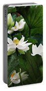Sacred Lotus Plant Portable Battery Charger
