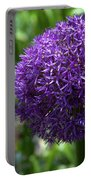 Allium Gladiator Closeup Portable Battery Charger
