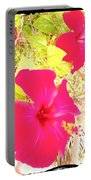 Almeria Flowers Portable Battery Charger