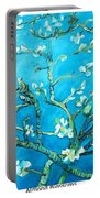 Almond Blossom Portable Battery Charger