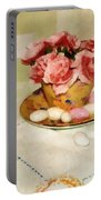 Almond Blossom Tea Portable Battery Charger
