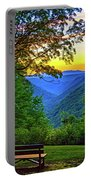 Almost Heaven - West Virginia 3 - Paint Portable Battery Charger
