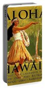 Aloha Hawaii, Hula Girl Dance Portable Battery Charger