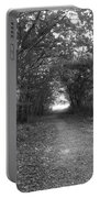 Along A Woodland Path Portable Battery Charger