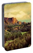 Along The Crooked River Portable Battery Charger