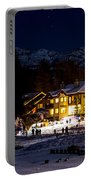 Along The Lake Night Portable Battery Charger