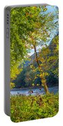 Along The Shenandoah River Portable Battery Charger