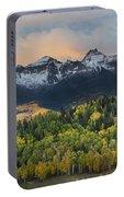 San Juan Mountains Fall Colors Sunrise Portable Battery Charger