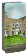 Alpha Tau Omega Portable Battery Charger by Charlotte Blanchard