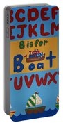 Alphabet Boat Portable Battery Charger