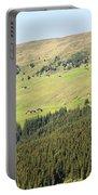 Alpine Forest Landscape.  Portable Battery Charger