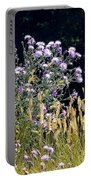 Alpine Thistles And Grasses Portable Battery Charger