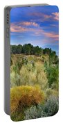 Alpujarras Forest At Sunset Portable Battery Charger