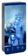 Alta, Roman Goddess Of Water Portable Battery Charger