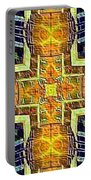 Altar Cross Tapestry Portable Battery Charger
