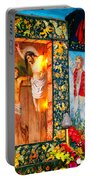 Altar Painted By Famous John Walach Portable Battery Charger