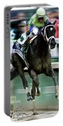Always Dreaming, Johnny Velasquez, 143rd Kentucky Derby  Portable Battery Charger