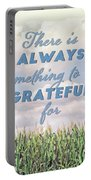 Always Grateful Portable Battery Charger