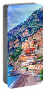 Amalfi Coast At Positano Portable Battery Charger