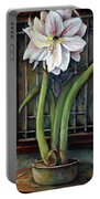 Amaryllis In The Window Portable Battery Charger