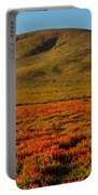 Amazing Poppy Fields Portable Battery Charger