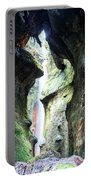 Amazing Vancouver Island Series - Sombrio Cave Waterfall  Inside  Closeup 2. Portable Battery Charger