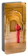 Amber Fort Temple Portable Battery Charger
