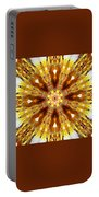 Amber Sun. Digital Art 3 Portable Battery Charger