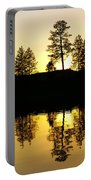 Amber Sunset Portable Battery Charger