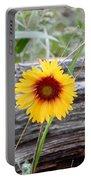 Amber Wheels Blanket Flower Portable Battery Charger