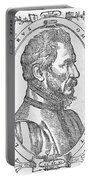 Ambroise Pare, French Surgeon, 1561 Portable Battery Charger